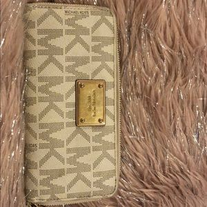 Michael Kors monogrammed wallet authentic